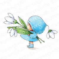 Stamping Bella - Bundle Girl With A Snowdrop, Leima