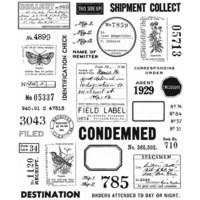 Tim Holtz - Field Notes, Leimasetti