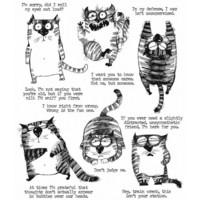 Tim Holtz - Snarky Cat, Leimasetti