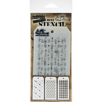 Tim Holtz - Mini Layered Stencil, Set #44