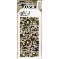 Tim Holtz - Layered Stencil, Tangles