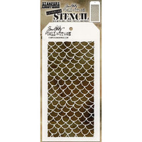 Tim Holtz - Layered Stencil, Scales