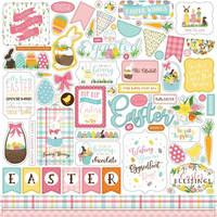 Echo Park - I Love Easter Element Sticker 12