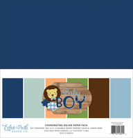 Echo Park - Baby Boy Solids Kit, 12