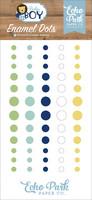 Echo Park - Baby Boy Enamel Dots, 60 kpl