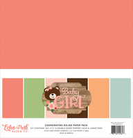 Echo Park - Baby Girl Solids Kit, 12