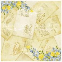 Fabrika Decoru - Spring postcards, Vellum, 11,5