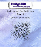 IndigoBlu - Collectors Edition 3, Cross Hatching, Leima