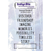 IndigoBlu - Journal Words II, Leimasetti