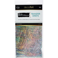 Deco Foil - Brutus Monroe Deco Foil Transfer Sheets (T), Silver Sketch