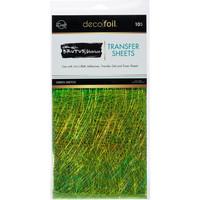 Deco Foil - Brutus Monroe Deco Foil Transfer Sheets (T), Green Sketch