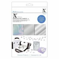 Xcut - Adhesive Foil Sheets, Silver, A5, 20 arkkia