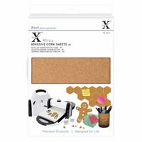 Xcut - Adhesive Cork Sheets, A5, 15 arkkia