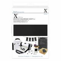 Xcut - Adhesive Chalkboard Sheets, A5, 20 arkkia