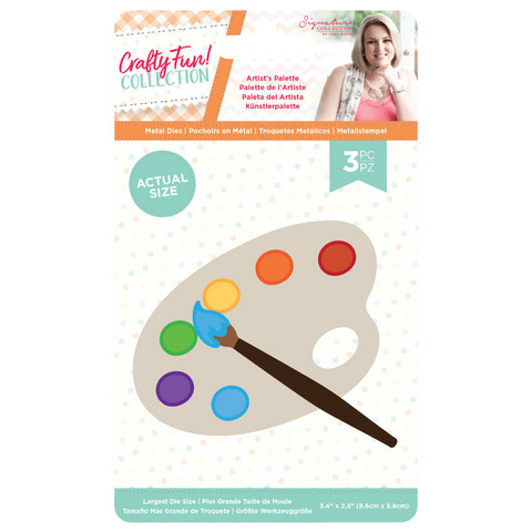 Crafter`s Companion - Sara Signature Collection Crafty Fun, Stanssisetti, Artist's Palette