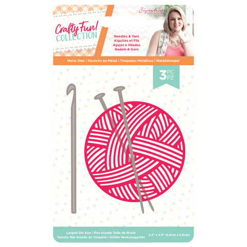 Crafter`s Companion - Sara Signature Collection Crafty Fun, Stanssisetti, Needles & Yarn