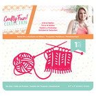 Crafter`s Companion - Sara Signature Collection Crafty Fun, Stanssi, Knit & Natter