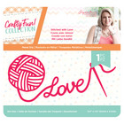 Crafter`s Companion - Sara Signature Collection Crafty Fun, Stanssi, Stitched with Love