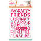 Crafter`s Companion - Sara Signature Collection Crafty Fun, Kohokuviointitasku, Crafty Friends