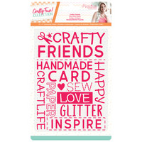 Crafter`s Companion - Sara Signature Collection Crafty Fun, Kohokuviointitasku, Crafty Friends