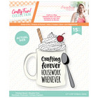 Crafter`s Companion - Sara Signature Collection Crafty Fun, Leima- ja Stanssisetti, Craft in a Mug