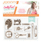 Crafter`s Companion - Sara Signature Collection Crafty Fun, Metal Charms, 10kpl