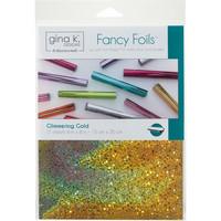 Deco Foil - Gina K Designs, Glimmering Gold (T), 12 arkkia