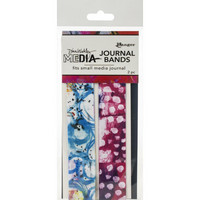 Dina Wakley Media - Printed Journal Bands, Small, 2kpl