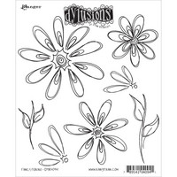 Dylusions - Cling Stamp Collections, Fancy Florals