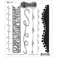 Dylusions - Cling Stamp Collections, Bordering On The Edge