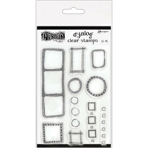 Dylusions - Clear Stamps, All The Right Boxes