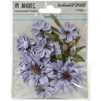 49 and Market - Enchanted Petals, Twilight, Paperikukkasetti