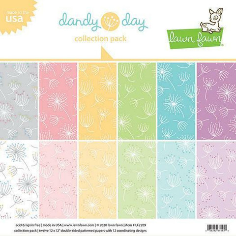 Lawn Fawn - Dandy Day Collection 12