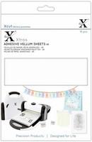 Xcut - Adhesive Vellum Sheets, A5, 15 arkkia