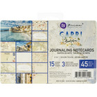 Prima Marketing - Capri Journaling Notecards, 4
