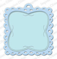 Impression Obsession - Square Eyelet Tag, Stanssi