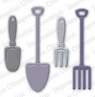 Impression Obsession - Garden Tools, Stanssisetti