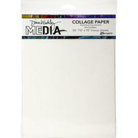Dina Wakley Media - Collage Paper, 20 arkkia