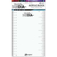Dina Wakley Media - Stamping Block 5