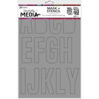 Dina Wakley Media - Alpha, Maski & Sapluuna 9