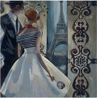 Collection D'Art - Spring in Paris (K), Timanttimaalaus, 38x38cm