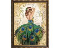 ArtMosfa - Magic Dress (O), Timanttimaalaus, 40x50cm
