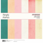 Simple Stories - Simple Vintage Garden District Basics Double-Sided Paper Pack 12