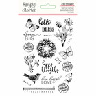 Simple Stories - Simple Vintage Garden District, Photopolymer Clear Stamps, Leimasetti