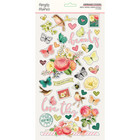 Simple Stories - Simple Vintage Garden District Chipboard Stickers 6