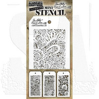 Tim Holtz - Mini Layered Stencil, Set #47