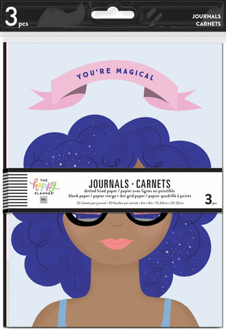 MAMBI - 3 Pack Journals, Bookish