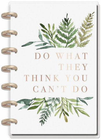 MAMBI - MINI Happy Planner, Do What They Think You Can't, päivätty