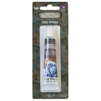 Prima Marketing - Finnabair Art Alchemy Matte Wax, Old White