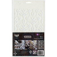 Prima Marketing - Finnabair Stencil Vintage Wallpaper, Sapluuna 6